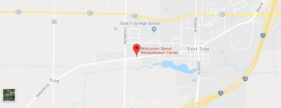 Map of East Troy Chiropractors