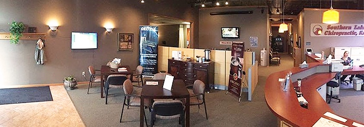 Chiropractic East Troy WI office interior