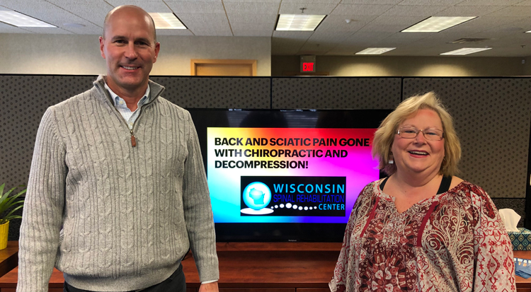 Chiropractic Brookfield WI Patient Testimonial at Wisconsin Spinal Rehabilitation Center